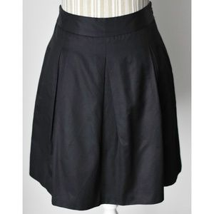 BCBGMaxAzria Black Pleated Skirt w/Pockets NWOT